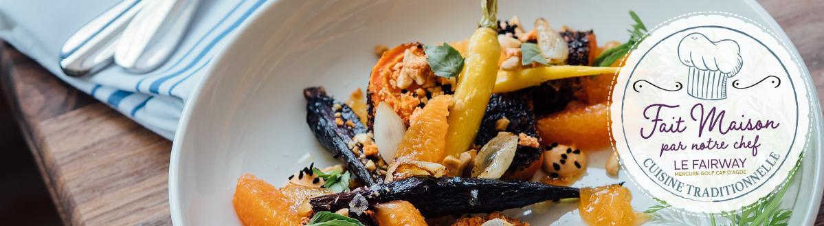 Banniere_Fait_maison-mercure-capdagde-restaurant-le-fairway-herault-gastronomie-menu-midi-soir-ouvert-repas-dejeuner-diner-hotel-1
